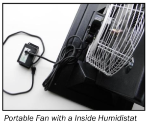 Portable Exhaust Fan System with Controller