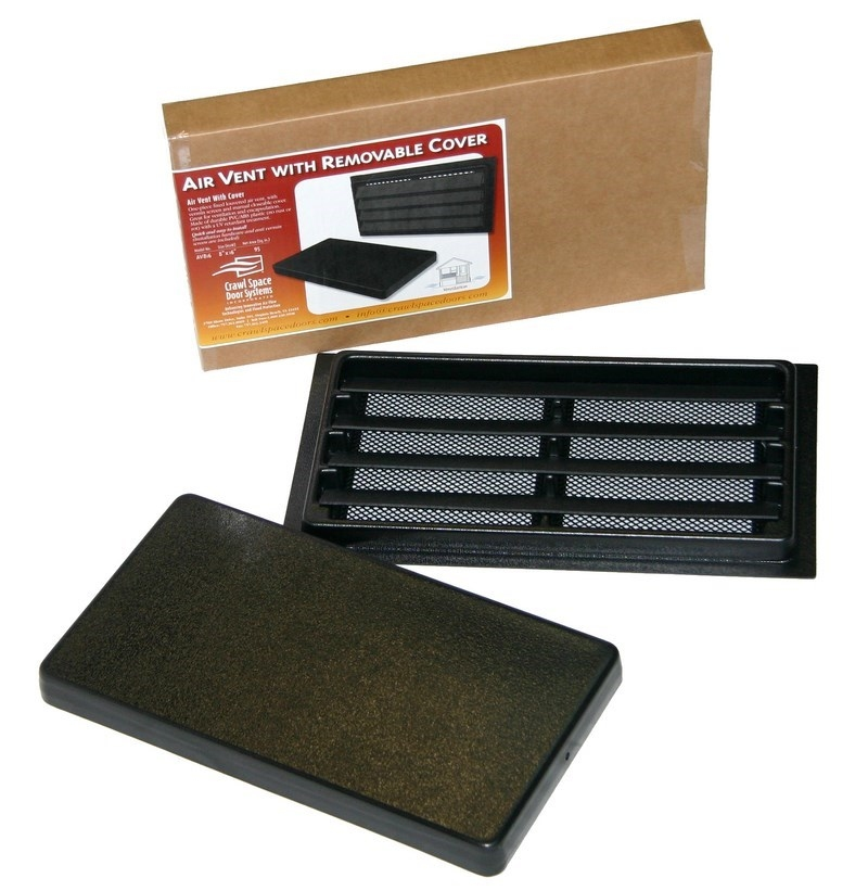 Manual Foundation Air Vent Crawl Space Door Systems