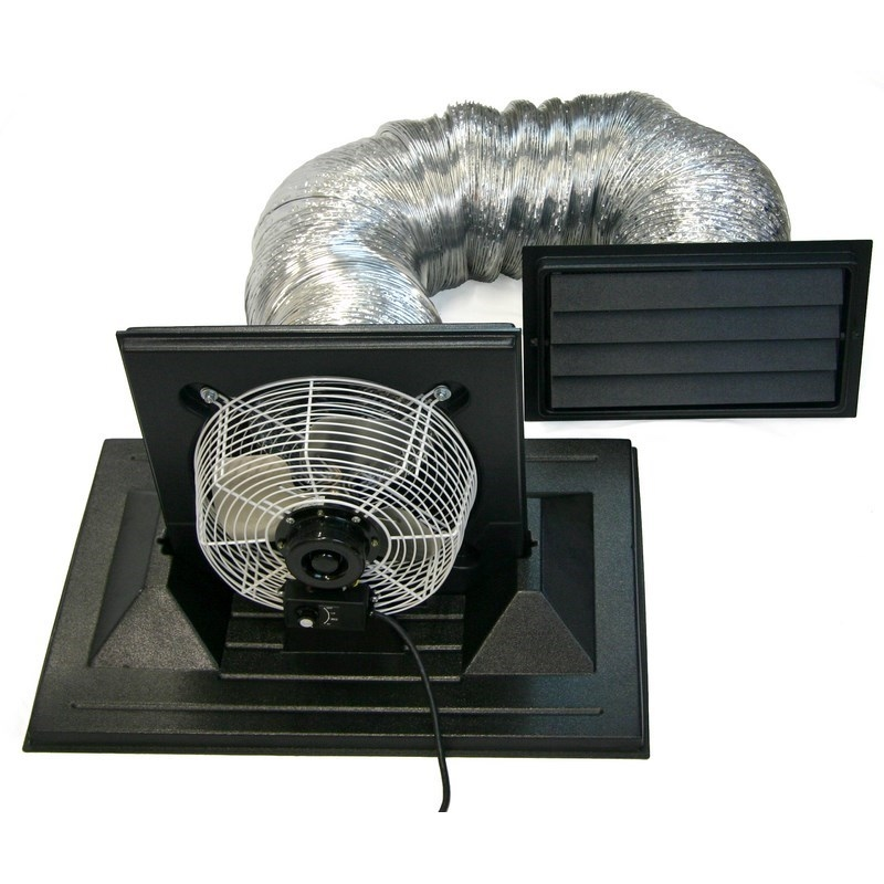 Crawlspace Exhaust Fan for foundation ventilation  sc 1 st  Crawl Space Door Systems & Exhaust Fans Archives - Crawl Space Door Systems Archive | Crawl ...
