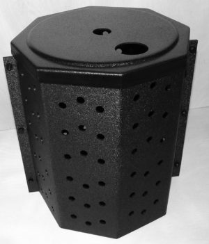 How to install a 2-piece sump pump bucket